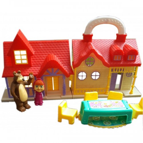 Maša ir Lokys namas