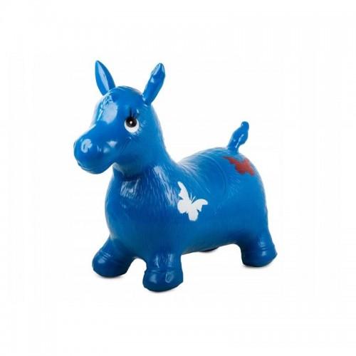 Šokinėjimo, lygsvaros arkliukas (mėlynas) 02
