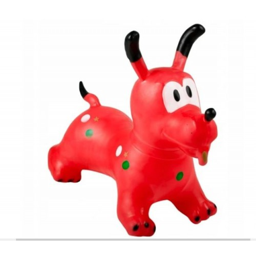 Šokinėjimo, lygsvaros šuniukas (raudonas)
