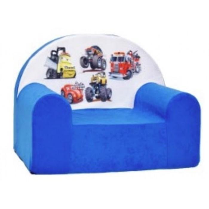 """Vaikiškas foteliukas """"Mašinos"""" 02"""