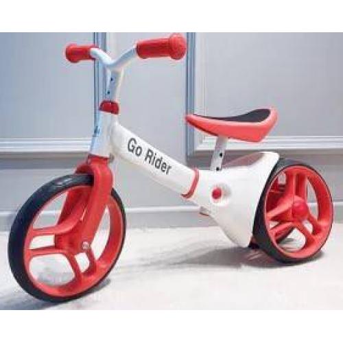 Balansinis dviratukas 2-5 m. vaikams (Raudonas)