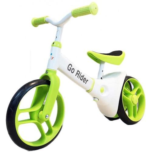 Balansinis dviratukas 2-5 m. vaikams (Žalias)