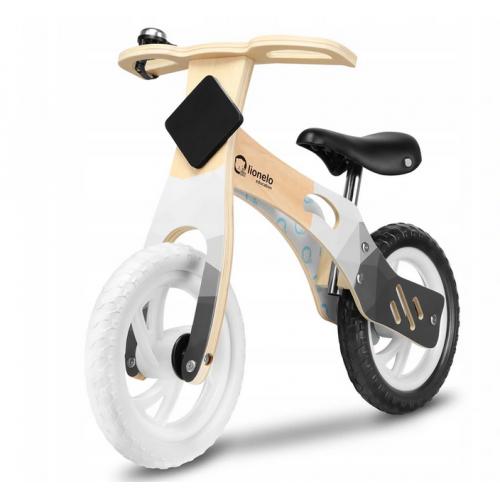 Medinis Willy Carbon balansinis dviratukas (Baltas)