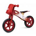 Medinis Loopy balansinis dviratukas (Raudonas)