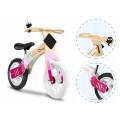 Medinis Willy Carbon balansinis dviratukas (Rožinis)