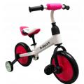 Balansinis dviratukas R-Sport 3in1 (Rožinis)