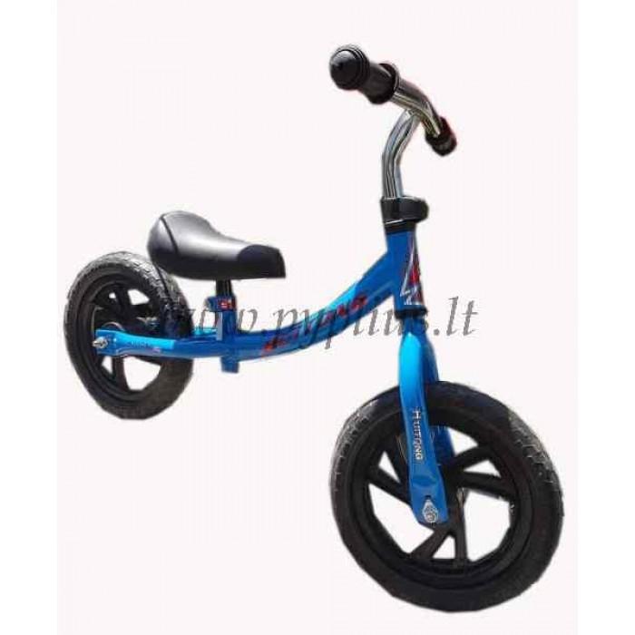 Balansinis dviratukas 02 (mėlynas)