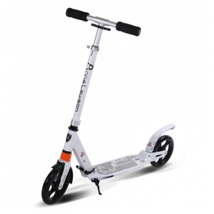 Scooter (Urban) paspirtukas vaikams ir suaugusiems Baltas