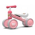 Pirmasis dviratukas-paspirtukas Rausvas ančiukas