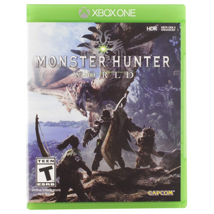 Monster hunter world (Naudotas)